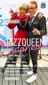 2019 25 Jahre Jakarta Berlin Jazz Singer SYAHARANI Ellington